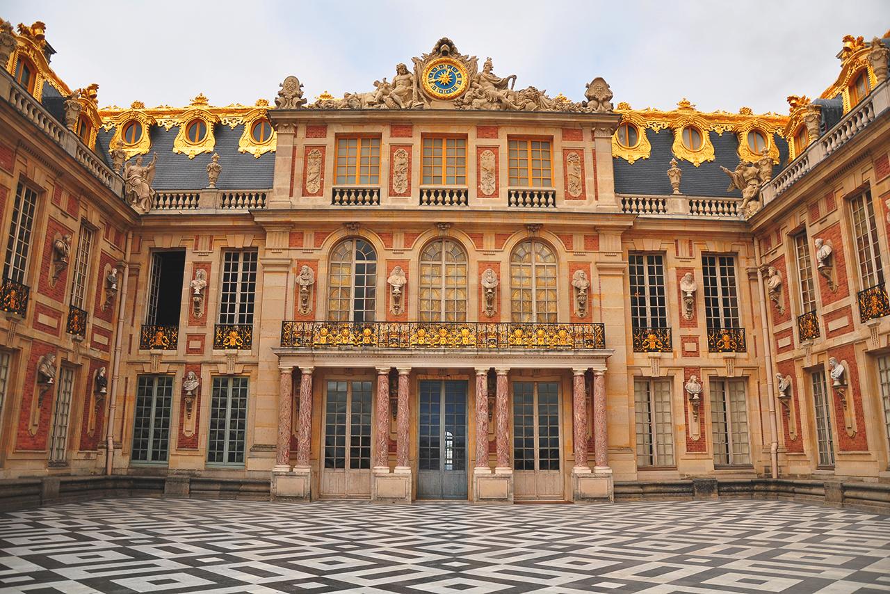 Cour de Marbre du Château de Versailles