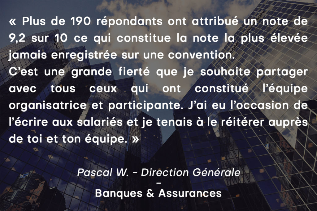 Background Témoignages informatique banque